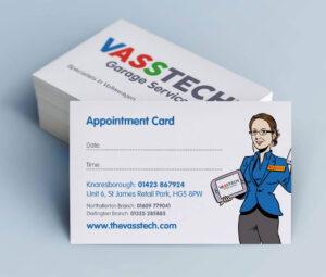 Vasstech Business Cards